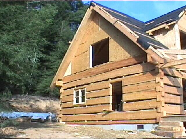 Cabin underconstruction